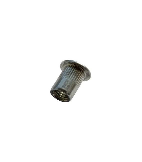 Заклепка резьбовая стальная 02ST01F08010 M8*16 мм